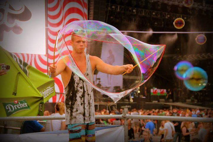 Sziget 2014 Buborék Party - Bubble Party