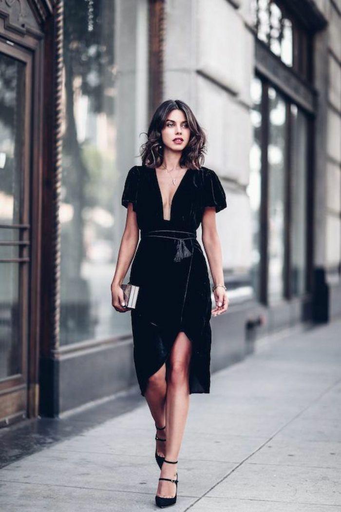 1001 Idees Comment S Habiller Pour Une Soiree Tenue Reveillon Robe Noire Chic Mode Robe