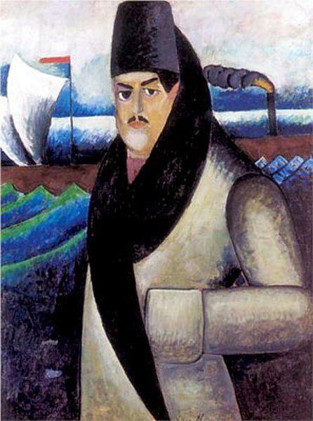 Сегодня день рождения художника Ильи Машкова (1881—1944). («Автопортрет». 1911 г. Холст, масло. 137х107. ГТГ. Москва https://t.co/TB46PyeyEZ