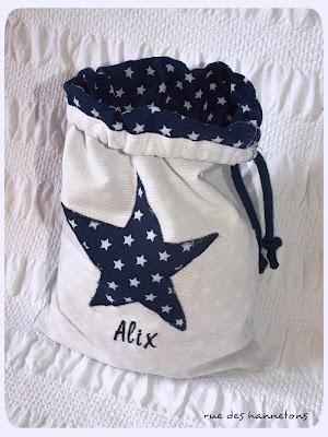 sew bag with drawstring
