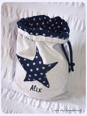 sew bag with drawstring