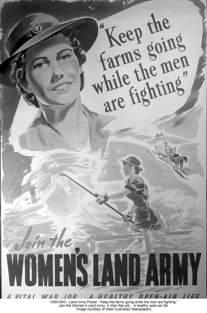 The Women's Land Army played a fundamental role in Britain during World War Two. The Women's Land Army helped to provide Britain with food at a time when U-boats were destroying many merchant ships bringing supplies to Britain from America.