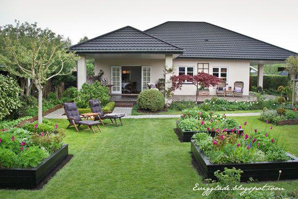 I haven hos Evigglade ♥: Højbed på hjul - til dig med gigt eller ondt i ryggen