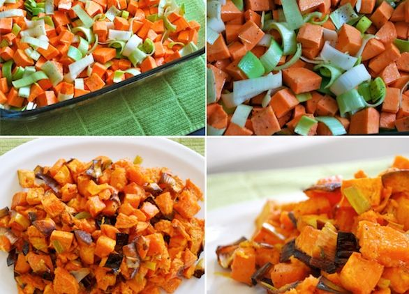 contorni 1 porri patate dolci