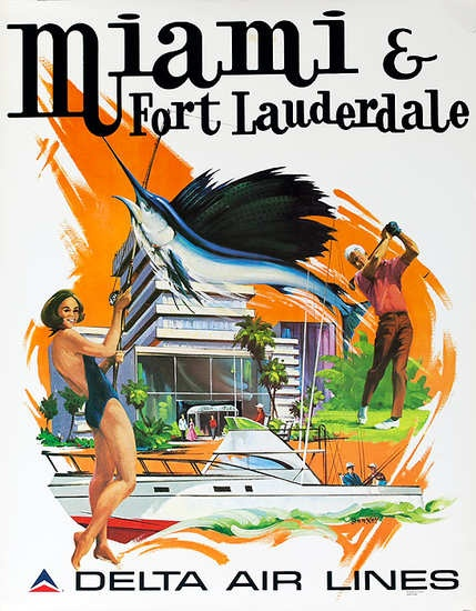 Miami & Fort Lauderdale Delta Air Lines Florida Travel