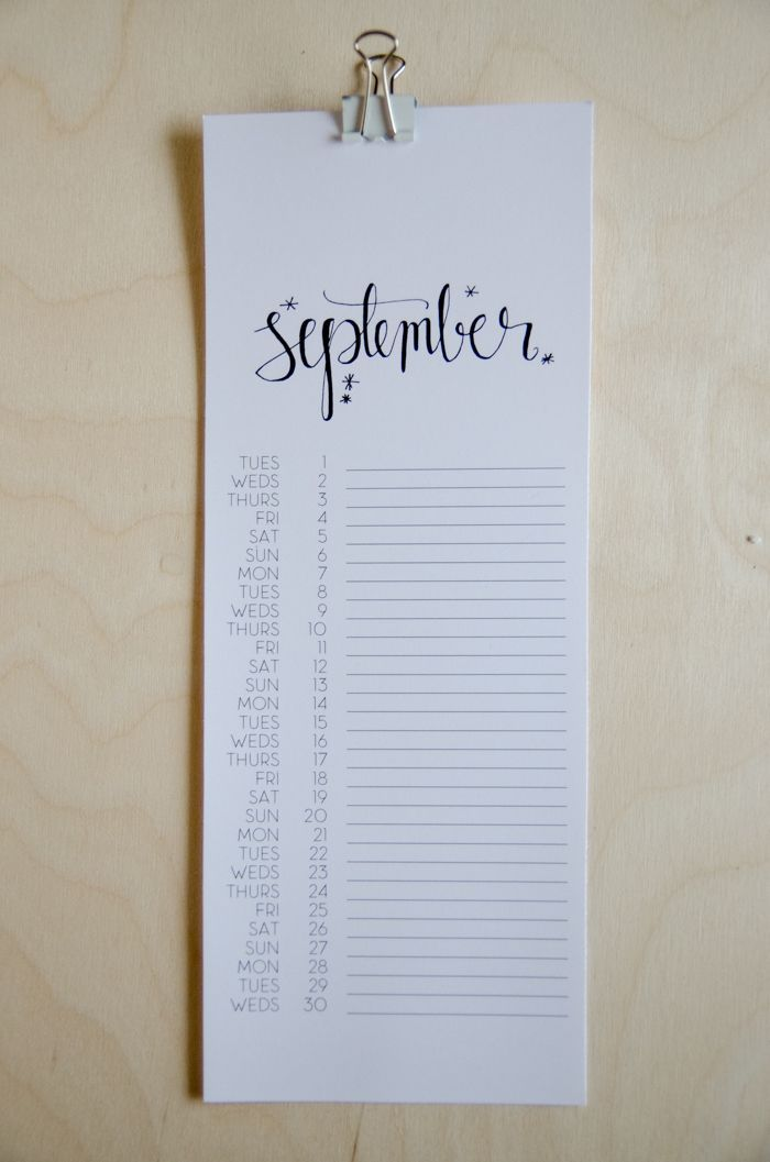 Free Printable Calendar- comes with a perpetual version so you can use it year after year- LOVE!