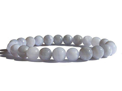 Throat Chakra - #ZENstore Chalcedony blue Healing Bracelet http://www.amazon.co.uk/dp/B00NOTF8BA/ref=cm_sw_r_pi_dp_ZU6nub0F17YP0. Available on ZEN-store.com ZENstore.eu ZENstore.co.uk Also available on Amazon.de.