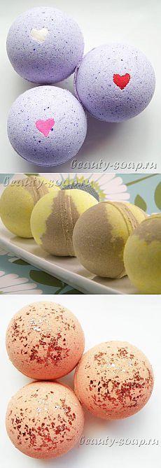 Рецепты бомбочек для ванной   Рецепты мыла ручной работы