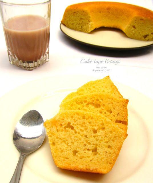 D a p u r     M a n i s: CAKE TAPE BERAGI