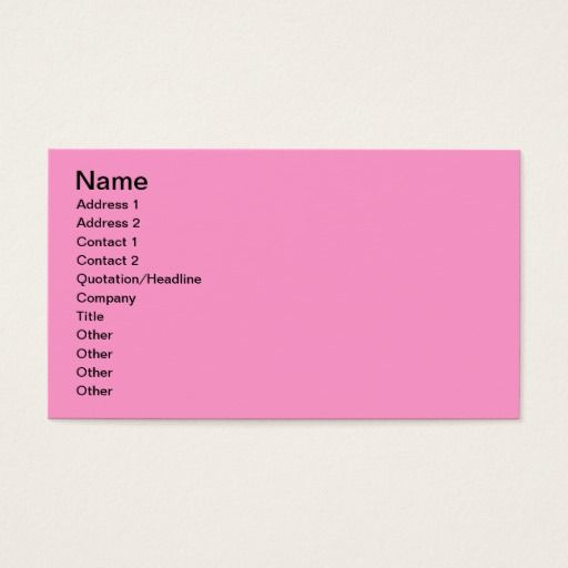 197 best avery business cards images on pinterest avery business pink rose flower avery business cards colourmoves