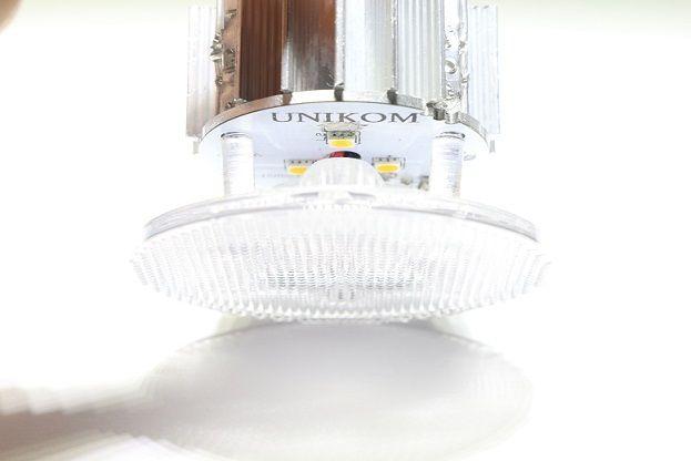 Lens Pergola armatür LED Armatür LED light for pergola UNIKOM maslancan@unikom.com.tr