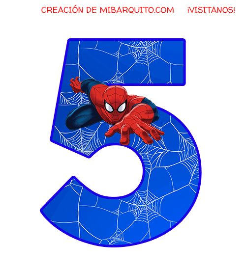Spiderman Cake Topper, Frozen Cupcake Toppers, Spiderman Invitation, Spiderman Pictures, Number Cake Toppers, Happy Birthday Flower, Hand Lettering Fonts, Wedding Prints, Party Supplies