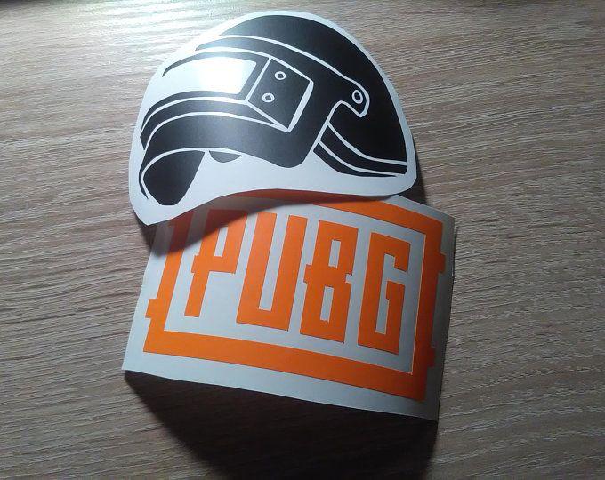 Playerunknown S Battlegrounds Themed Stickers Decals Pubg Logo
