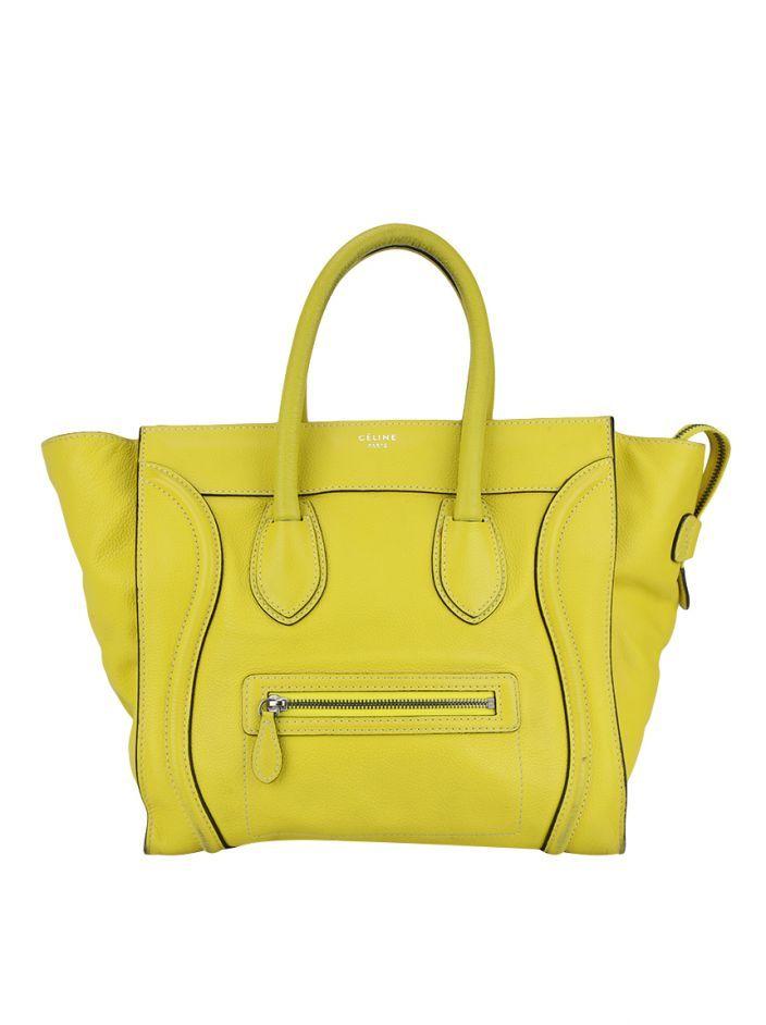 e273fff7f Bolsa Céline Luggage Amarela | NEW IN | Bags, Luggage bags e Celine ...