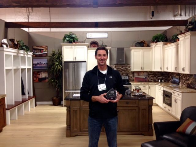 "If you haven't been to the Indianapolis Home Show yet, visit us this weekend.  Awarded ""The Best Booth over 360 SF!"""