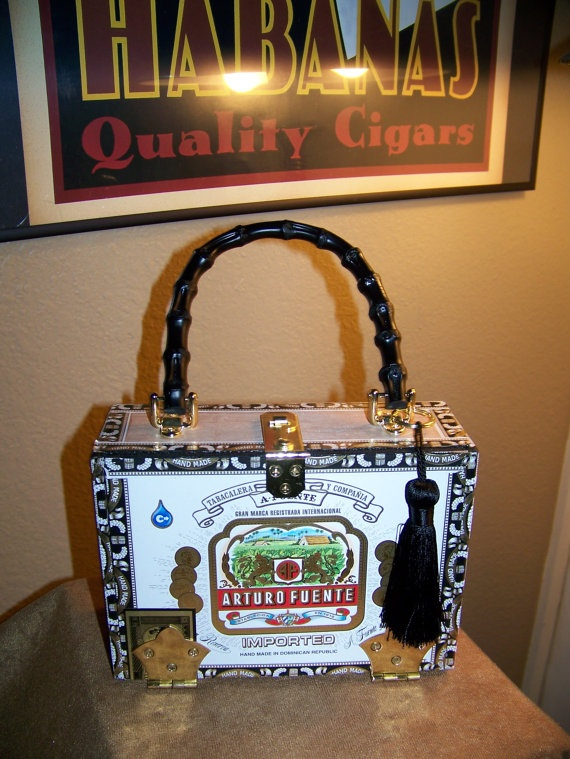 Arturo Fuente Cigar Box Purse On Style Pinterest Boxes And Cigars