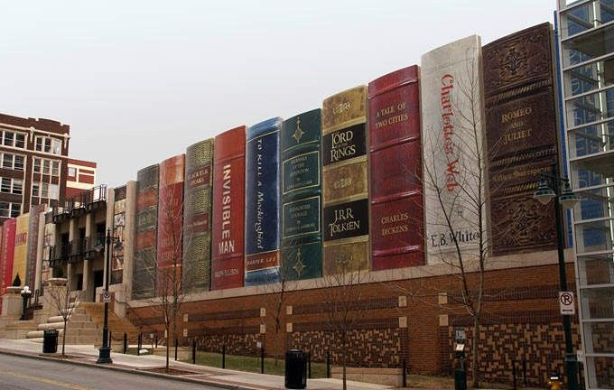 Public library, Kansas City, USA