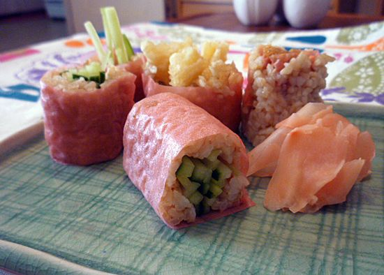 A Simple Swap to Make Sushi Even Healthier