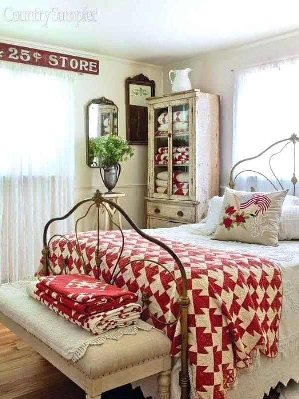 cottage style bedroom john red cottage style bedroom ...