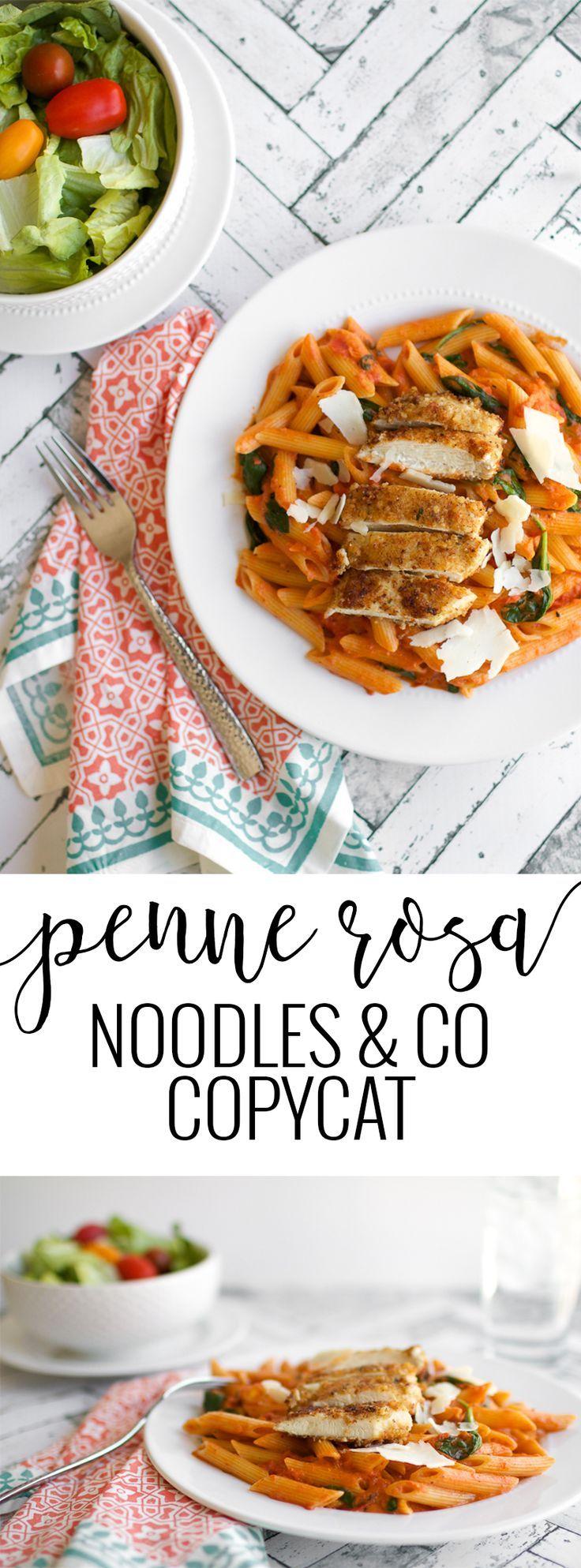 Penne Rosa Recipe | Noodles & Company Copycat Recipe | homemade penne rosa | homemade pasta recipes | homemade italian recipes | copycat recipe ideas | penne rosa homemade | italian dinner recipes | easy dinner recipes | easy italian recipes | easy pasta