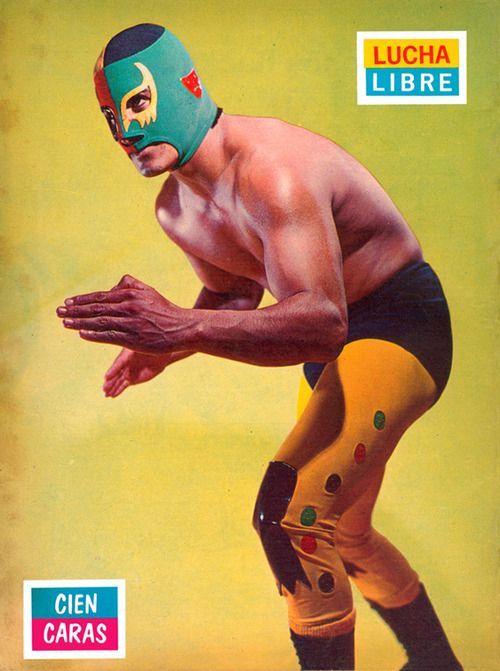 As incriveis capas da revista Lucha Libre dos anos 70