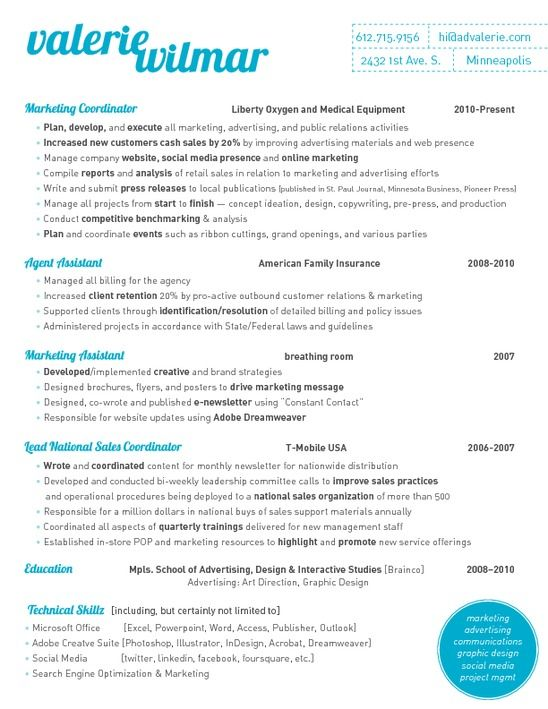 Image Result For Marketing Coordinator Insurance Resume Samples