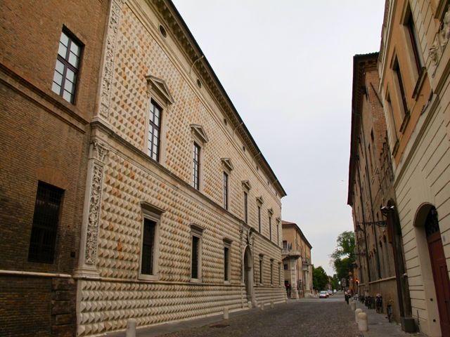 "Palazzo dei Diamanti - ""The mirrors of Castello Estense in Ferrara"" by @Keith Savoie Jenkins"