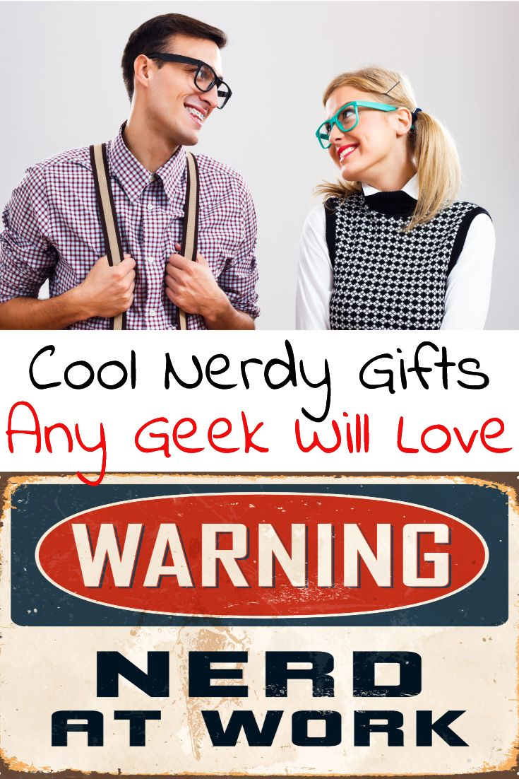 Cool nerdy and geeky gifts. Nerdy gifts for her and nerdy gifts for him. No matter who it is we have some cool geek gifts for you!