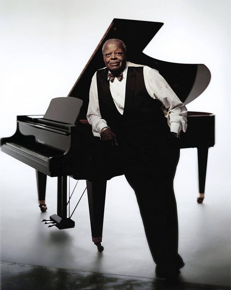 Oscar Peterson   One of the greatest Canadian jazz musicians pianist) in the world   From Montreal