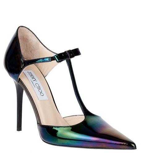 Jimmy Choo Twain hologram patent pump - ooooooooooh I NEED THESE!!!