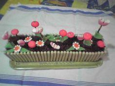 Les gâteaux d'anniversaire à thème font toujours sensation - Gâteau jardinière - Vous préparez des super goûters d'enfants