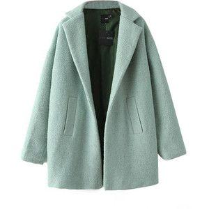 Chicnova Fashion Long Sleeves Lapel Collar Pure Color Coat