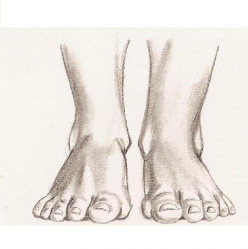 Les 25 meilleures id es de la cat gorie dessin pied sur pinterest dessin de pieds anatomie du - Dessin de pied ...