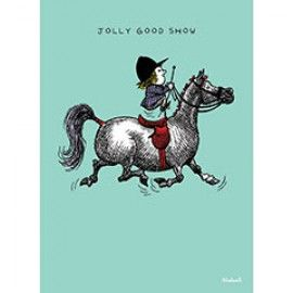 Thelwell Blank Greeting Card  - Jolly Good Show