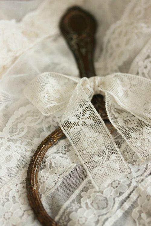 Cottage Charm ~ Vintage Lace ~ Cream ~