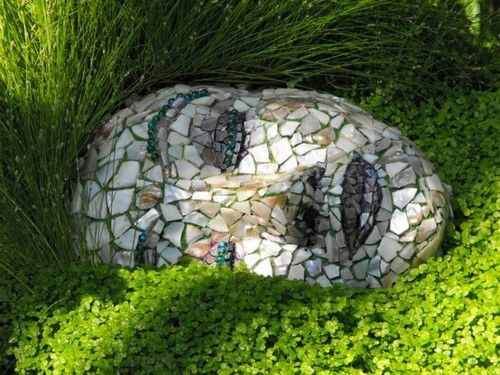 Mosaic Face - Gardens in the Sun - #Selfie @ #Design!