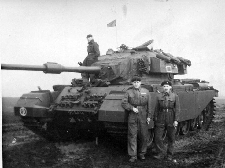 Centurion tank of 14th / 20th King's Royal Hussars, British Army of the Rhine, 1963.