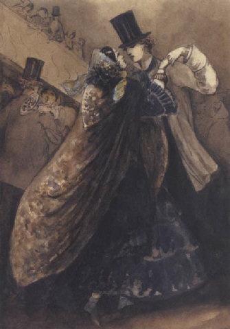 le bal a l'opera constantin ernest adolphe hyacinthe guys