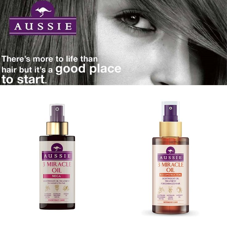 Aussie 3 Miracle Oil   Blonde Male