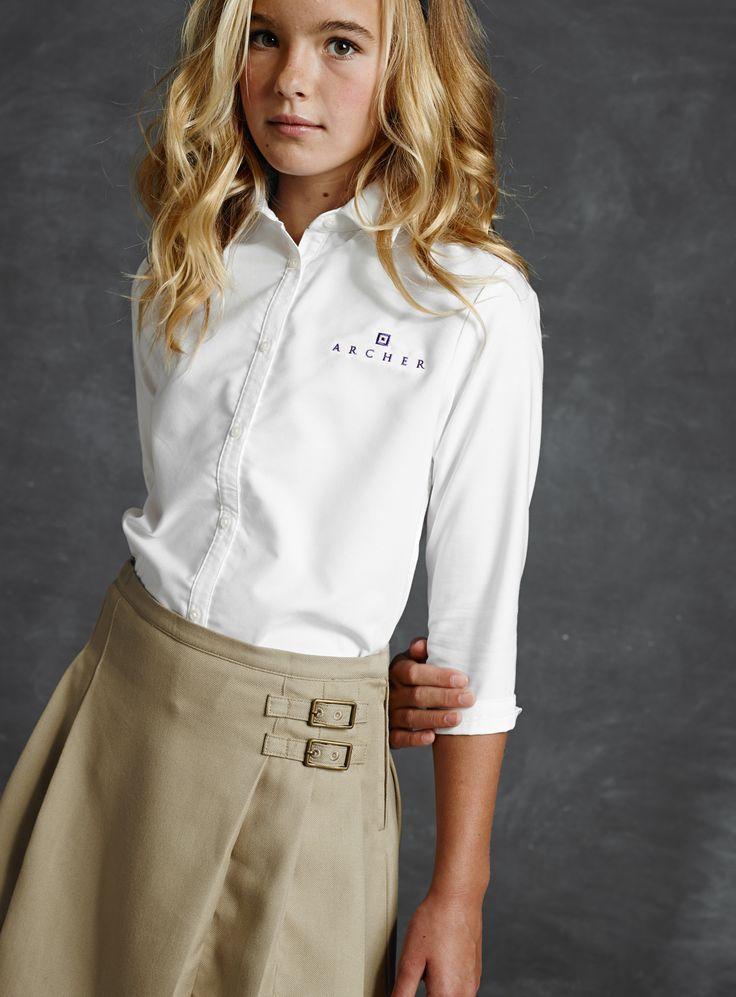 lands end school uniform for girls pictures | School Uniforms | Lands' End | School Uniforms | Pinterest