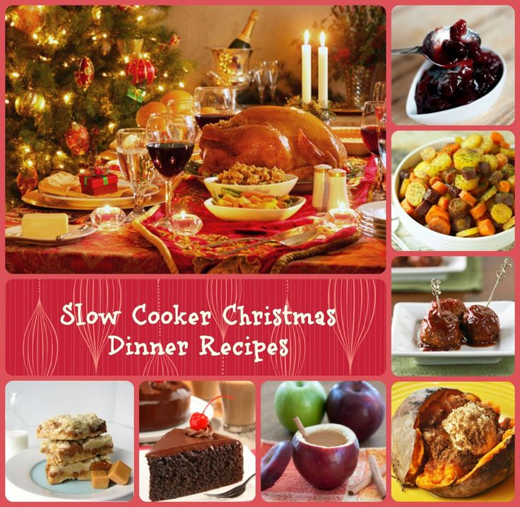 Slow Cooker Dinners: 55 Best Christmas Recipes For Slow Cooker Images On