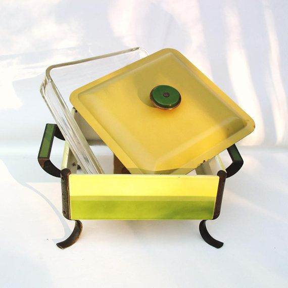 Vintage Chafing Dish Buffet Server 1970s Kitchen by WhimzyThyme, $39.95