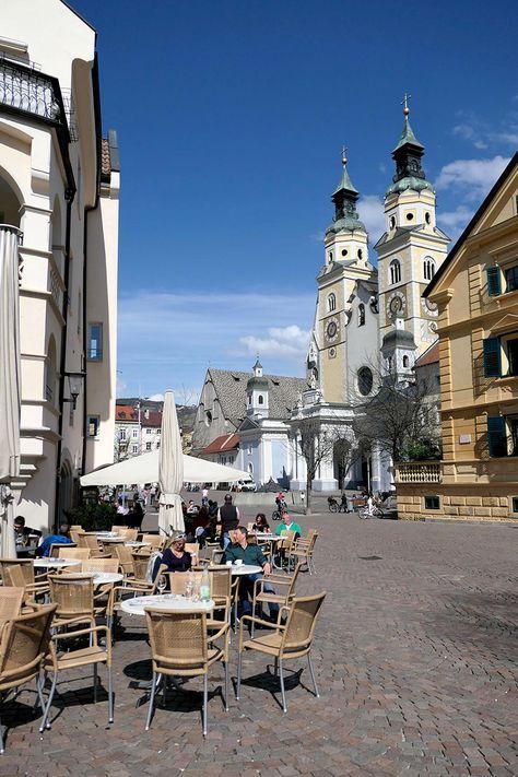 Unterweg in Brixen. Pizza und Gelato in der drittgrößten Stadt Südtirols.
