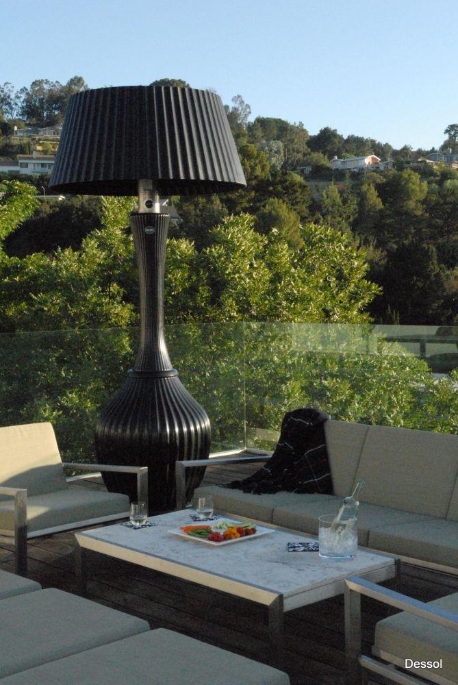 Terrasverwarming Kindle (voorheen: Dessol-Sphere) - Van der Gun Zonwering BV Vianen - Uw betrouwbare partner voor al uw binnen- en buitenzonwering, rolluiken, screes, terrasoverkappingen en raamdecoratie