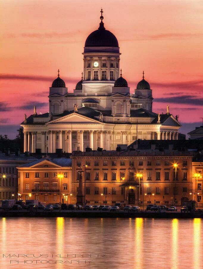 Helsinki, Finland - been in this church before, it is stunning