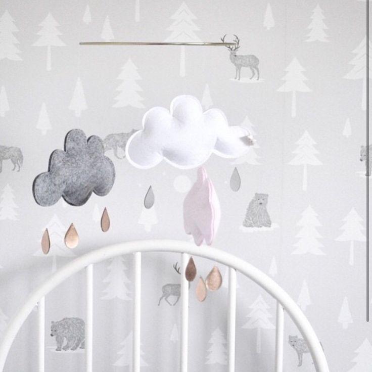 SHOP NOW// #scandinavian Baby mobiles www.foreverwildchildstore.com #foreverwildchildstore