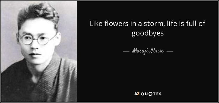 Az Quotes Mesmerizing Quotes From Masuji Ibuse  Az Quotes  Japanese Literature Quotes