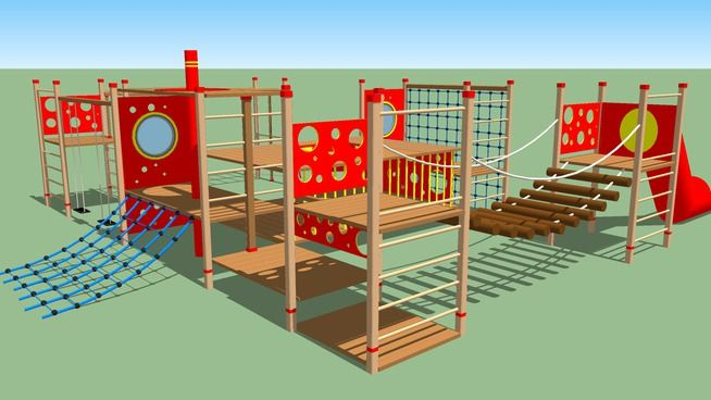 Playground | Playground, Sketchup model, Backyard for kids on Sketchup Backyard id=42480