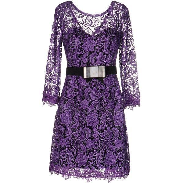 Best 20  Short purple dresses ideas on Pinterest | Blue dresses ...