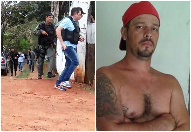 Suspeito de assassinar agente da PRF em Catalão é morto em confronto com a polícia